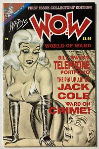 W.O.W. WARD'S WORLD OF Bill WARD V1 #1 Jack Cole TORCHY Pinup Art SHOWGIRLS - NM