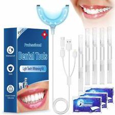 Kit Blanchiment Dentaire LED Lampe Dentaire, 5* Gel de blanchiment des dents