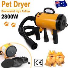 2800W Adjustable Speed Dog Hair Dryer Pet Grooming Hairdryer Blaster Blower AU