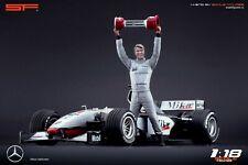 1:18 Mika Häkkinen figurine VERY RARE !!! NO CARS !! for Mercedes Mclaren