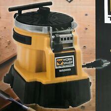 WORK SHARP Werkzeugschleifer Messer- Axt- Meißel- Schleifgerät WS2000 -NEU-