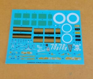 Revell 1/25 1929 MODEL A ROADSTER 2-N-1 DECAL SHEET