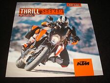 KTM 1290 Super Duke Gt Folleto Ventas Gb 2016 Nuevo, Viejo Stock