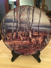 The Birch Line Terry redlin Collector Plate