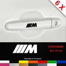 M SPORT Stickers Door Handle Decals BMW X6 Car sticker Vinyl