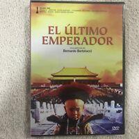 EL ULTIMO EMPERADOR  BERNARDO BERTOLUCCI DVD NUEVO NEW PRECINTADO