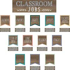 TCR 8801 Home Sweet Classroom Rustic Jobs Mini Bulletin Board Teacher Supplies