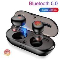 Touch TWS Kopfhörer Bluetooth 5.0 Kabellos Headset für Samsung iPhone Huawei