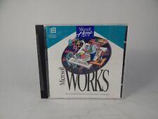 Microsoft Works 3.0 PC CD-ROM 1993 for Windows 3.1 Full Versions CD