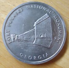 Georgia Fort Pulaski National Monument Siege & Reduction April 10-11, 1862 MEDAL