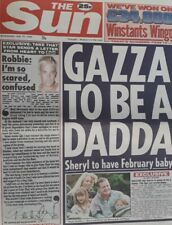 More details for the sun newspaper wednesday 19 july 1995.robbie williams quits take that.