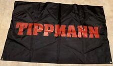 "New Tippmann Paintball Cloth Red Logo Promo Dealer Store Banner Ad Big 57"" x 35"""
