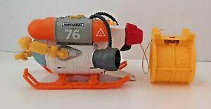 2013 Mattel Matchbox 76 Mission Undersea Squid Submersible Bath Toy - CBK84 @@