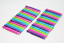 NON RUSTING STRONG 30 PLASTIC DOLLY CLOTH PEGS WASHING LINE LAUNDRY DURABLE PEG