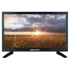 """Combo Tv Televisore 19,5"""" MAJESTIC 12V HD DVBT2 12Volt Camper CAMION AUTO BARCA"""