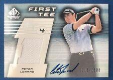 Peter Lonard 2003 Upper Deck SP Game-Used 'First Tee' Autograph Shirt #1500