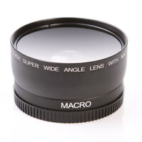 52mm 0.45x Wide Angle Macro Lens for Nikon D3200 D3100 D5200 D5100 Canon Sony