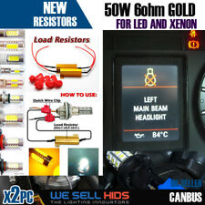 50W 6 OHM LED Can-Bus RESISTORS WARNING CANCELLER FAST FLASH INDICATOR 1156 1157