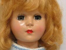 """Hard plastic unmarked 17"""" Nancy Ann? Arranbee?"""