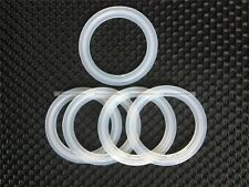 "5PCs 2"" Sanitary Tri Clamp Silicon Gasket Fits 64mm OD Type Ferrule Flange S3"