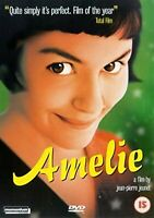 Amelie - 2002 Amelie Audrey Tautou, Dominique , Jean-Pierre New UK Region 2 DVD