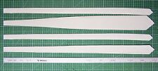 Neck tie lining / interlining / interfacing / canvas, for normal and skinny ties