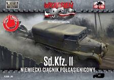 Prima di combattere 1/72 sd.kfz.11 - Semicingolato tedesco Trattore # 041