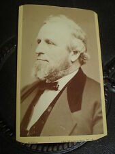 Cdv photograph Governor Massachusetts USA Emory Washburn by Warren Boston 1870s
