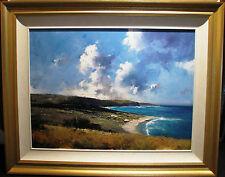 Herman Pekel rare original oil titled 'Far Horizons'.Australia