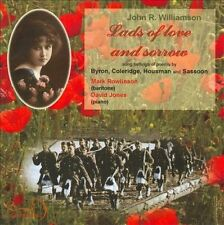 Lads of Love and Sorrow songs by John Williamson, New Music
