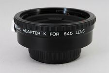MINT Asahi Pentax Adapter K For 6x7 67 Lens Mount Camera from Japan a338