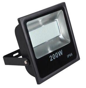 200 Watt LED Außenstrahler Flutlicht Baustrahler Gartenleuchte Arbeitsleuchte