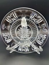 More details for waterford crystal millennium 5 toast accent luncheon side dessert plate signed