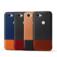 Luxury UltraThin Leather Case For Google Pixel 2 3 3a XL Bumper Hard Back Cover