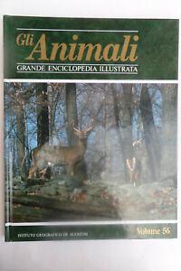 GLI ANIMALI- VOLUME 56 - GRANDE ENCICLOPEDIA ILLUSTRATA DE AGOSTINI, 1990- Z3