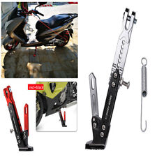 Durable Adjustable Motorcycle Bike Side Stand Kickstand Sidestand Tripod Holder