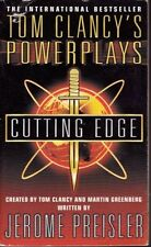 Cutting Edge: Power Plays #6 - Tom Clancy VGC paperback action & adventure