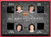 2020 Sittler - Keon - Gilmour - Horton President's Choice Solitaire 1/1 Relic