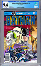 BATMAN: OFFICIAL MOVIE ADAPTATION #NN CGC 9.6 DENNY O'NEIL & JERRY ORDWAY 1989