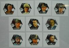 Leaders of Germany in World War II Tchad SET 10 VAL+10 S/S tchad2014-03/6 IMPERF
