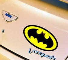 11cm Batman Pattern car bonnet decals Auto modification Reflective stickers