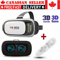 NEW VR BOX Virtual Reality Glasses 3D VR Headset for Android IOS Iphone Samsung