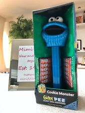 More details for vintage pez giant candy dispenser from 2004 /dead stock/ cookie monster over 12