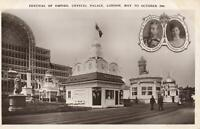 VINTAGE REAL PHOTO FESTIVAL of EMPIRE, CRYSTAL PALACE, LONDON, 1911 POSTCARD