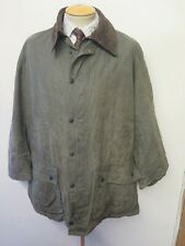 "Vintage Barbour A200 Border Waxed jacket - XL 46"" Euro 56 in Green"