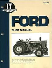 Ford Fordson Tractor Repair Manual TW10 TW20 TW30 1000 2000 5000 6000 8000 9000