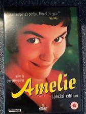 Amelie DVD Region 2 Special Edition Audrey Tautou Mathieu Kassovitz 2001