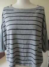Wool Blend Hand-wash Only Medium Knit Striped Jumpers & Cardigans for Women
