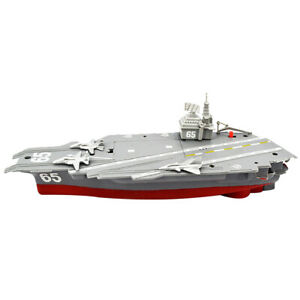 Electric Plastic Mini Aircraft Carrier Model Toy Gift for Kids Collections
