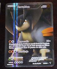 TCG POKEMON ULTRA RARE HOLO CARD ESP CARTE EN ESPAGNOLE 99/101 TERRAKION Noble